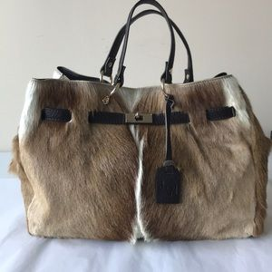 Diane Gail Fur Handbag